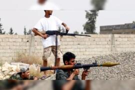 السلطتان المتنافسان في ليبيا تعلنان وقف إطلاق النار