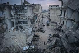 قوات الأسد تقتل مدنيين في أريحا..12 صاروخاً سقطوا بمدرسة ومنازل