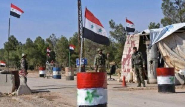 مجهولون يهاجمون حاجزاً لميليشيات النظام في غوطة دمشق .