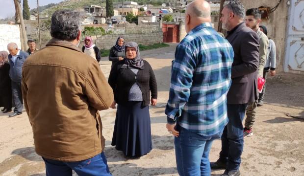 في الذكرى السنوية الثامنة لمجزرة برج عبدالو وفد من رابطة المستقلين الكرد السوريين يزور أضرحة الشهداء .