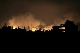 نظام الاسد وحلفاؤه يصعدون عمليات القصف على ريف إدلب في ليلة العيد .