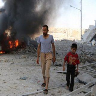 الذكرى السنوية للمجزرة التي ارتكبتها ميليشيات الأسد في مدينة موحسن بدير الزور .