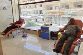 مكتب رابطة المستقلين الكرد السوريين في عفرين يساهم في حملة التبرع بالدماء .
