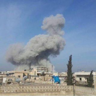 قصف مدفعي من قبل  ميليشيات الأسد على ريف إدلب يوقع العديد من الاصابات .