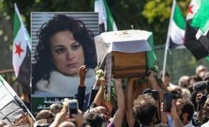 الذكرى السنوية الثالثة لرحيل الفنانة السورية المعارضة مي سكاف.