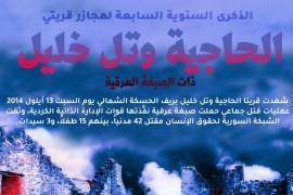 رابطة المستقلين الكرد السوريين تستذكر  الذكرى السنوية السابعة للمجزرة التي ارتكبتها ميليشيات pyd-pkk بحق المدنيين العرب في قرى (الحاجية، المتينية ، تل خليل) بريف القامشلي.