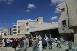 انفجار شاحنة مفخخة في  مدينة الباب  يوقع العديد من الجرحى .