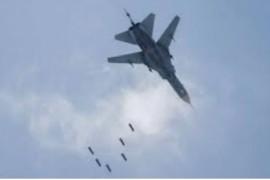 الطيران الحربي التابع للاحتلال الروسي يصعد من غاراته على ريفي إدلب وحلب .