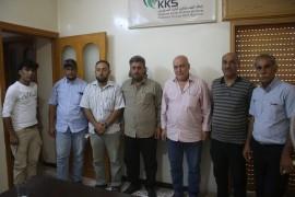 وفد من تجمع الوطن أولاً يقوم بإجراء زيارة إلى مكتب رابطة المستقلين الكرد السوريين في عفرين .