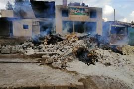 توثيق ما لايقل عن 174 حادثة اعتداء على مخابز منذ آذار 2011 حتى الآن، 149 منها على يد الحلف السوري الروسي