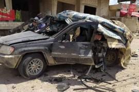 سيارة لميلشيا حزب الله تدعس طفلين شرقي حماة