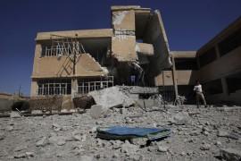 واشنطن هجمات  قوات تنظيم الأسد الأرهابي على المؤسسات المدنية تعمق الأزمة الإنسانية في سوريا.