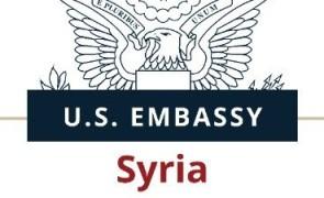 الولايات المتحدة الأمريكية تستنكر تصاعد العنف والهجمات  في سوريا .